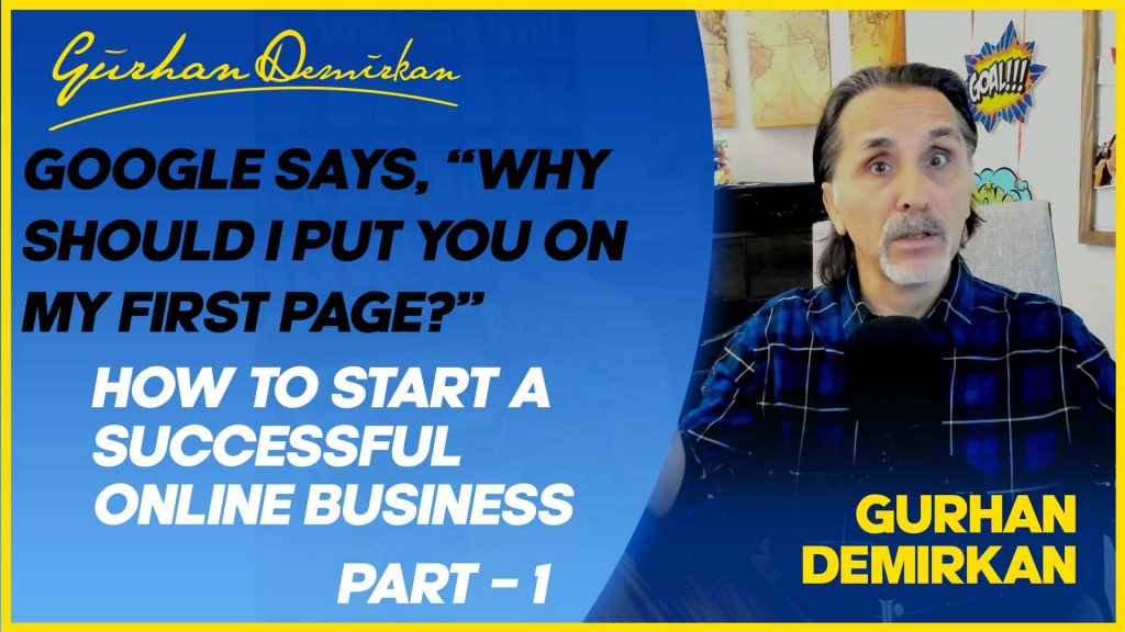 How to Start A Successful Online Business / Part # 1