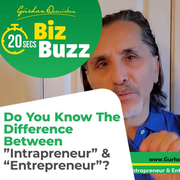 The Difference Between Intrapreneur and Entrepreneur
