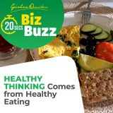 Healthy Thinking Comes From Healthy Eating