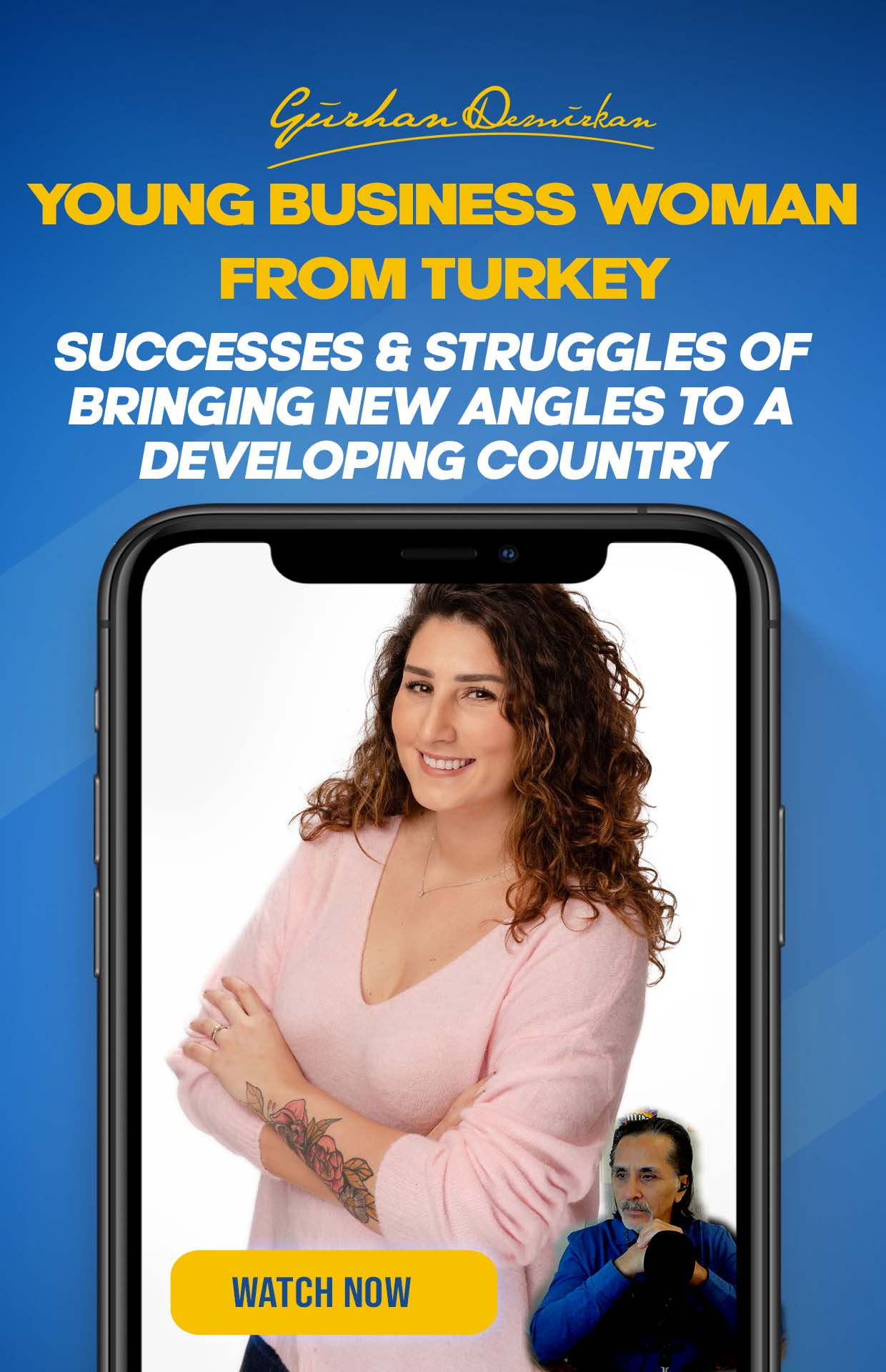 Young Business Woman From Turkey